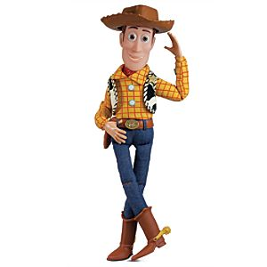 Talking Woody Action Figure -- 16'' H
