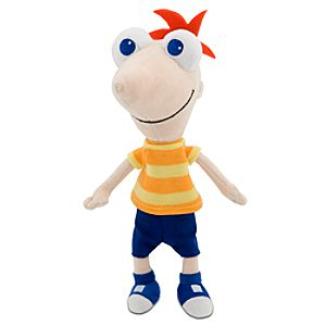 Mini Bean Bag Phineas Plush Toy -- 10 H