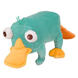 Perry Plush Mini Bean Bag Toy -- 10''