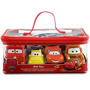 Cars Bath Toys Set - 4 Pc.