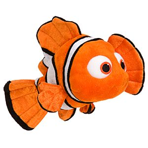 Mini Bean Bag Nemo Plush Toy -- 9 L