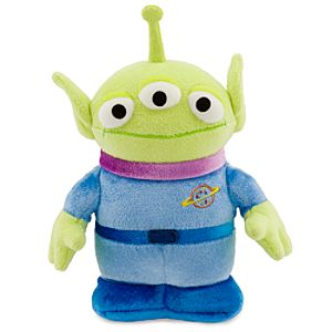 Little Green Alien Mini Bean Bag Plush
