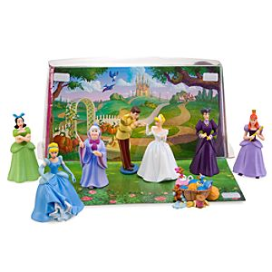 Cinderella Figurine Play Set    8 Pc.