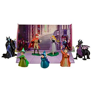 Sleeping Beauty Figure Play Set -- 7-Pc.