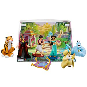 Aladdin Figure Play Set -- 7-Pc.