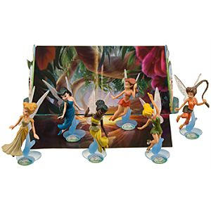 Disney Fairies Figurine Play Set -- 6-Pc.