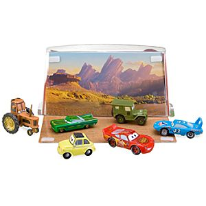 Disney Cars Figure Play Set # 1 -- 6-Pc.