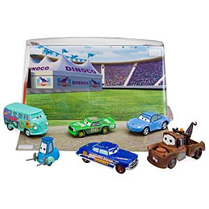 Disney Cars Figure Play Set # 2 -- 6-Pc.