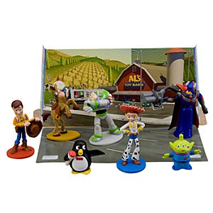 Toy Story 2 Figure Play Set -- 7-Pc.