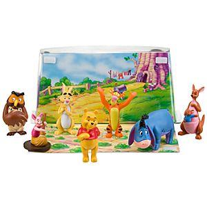 Winnie the Pooh Figure Play Set -- 7-Pc.