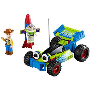 Woody and Buzz to the Rescue Toy Story Lego Set