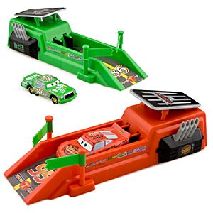 Cars Die Cast Car Launcher Race Set - Twin Pack