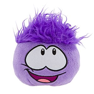 Club Penguin 4 Purple Pet Puffle -- Series #3