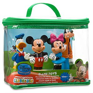 Mickey Mouse Clubhouse Bath Toy Play Set -- 4-Pc.