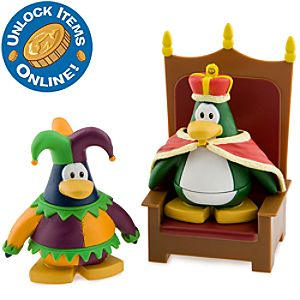 Club Penguin 2 Mix N Match Figure Pack - Court Jester and King
