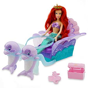 Ariel's Sea Carriage Doll and Vehicle Set