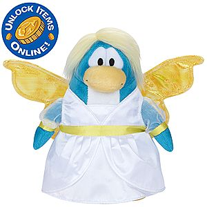 Club Penguin 6 1/2 Limited Edition Penguin Plush - Snow Fairy