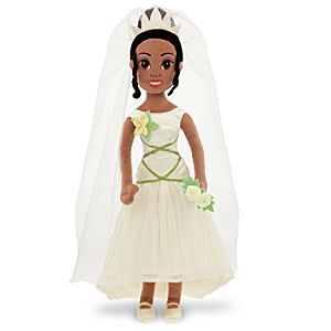 Princess Tiana Soft Doll -- 20