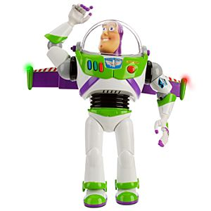 Advanced Talking Buzz Lightyear Action Figure -- 12'' H