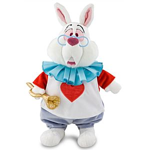 White Rabbit Plush Toy -- 15 H