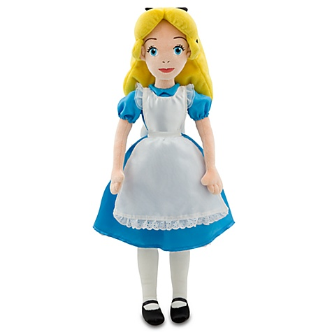 Alice in Wonderland Plush Doll -- 20''