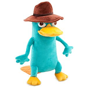 Phineas and Ferb Agent P Plush Toy -- 13 H