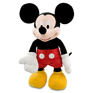 Large Mickey Mouse Plush Toy - 30