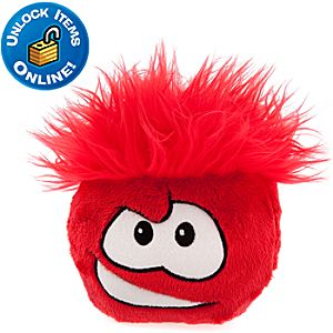 Club Penguin Red Pet Puffle - 6