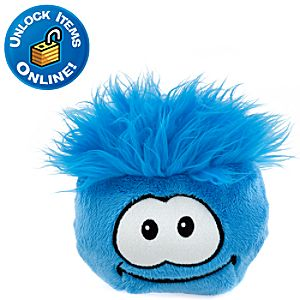Club Penguin Blue Pet Puffle -- 6 H