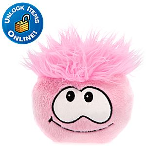 Club Penguin Pink Pet Puffle -- 6 H