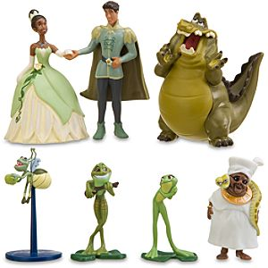 The Princess and the Frog Figurine Play Set -- 7-Pc.
