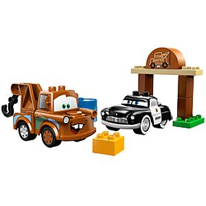 Maters Tow Yard Cars Lego Duplo Play Set
