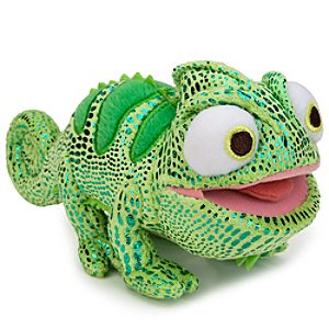 Pascal the Chameleon Plush - Tangled - Green Mini Bean Bag 8