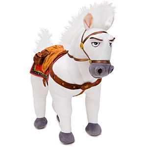 Tangled Maximus Horse Plush Toy -- 14 H