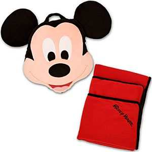 Mickey Mouse Nap to Go Pillow and Blanket Set