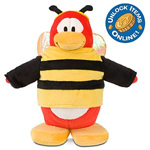 Club Penguin 9 Penguin Plush -- Bumble Bee