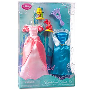 Princess Ariel Doll Wardrobe and Friends Set -- 5-Pc.