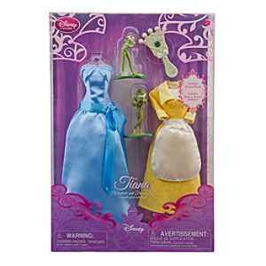 Princess Tiana Doll Wardrobe and Friends Set -- 5-Pc.