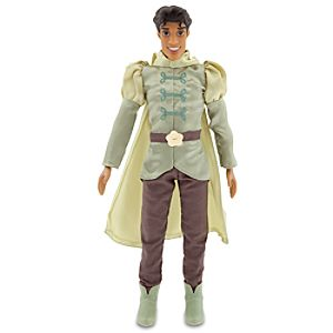 The Princess and the Frog Prince Naveen Doll -- 12 H