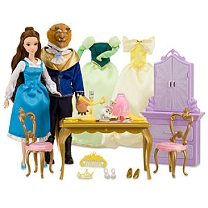 Deluxe Beauty and the Beast Dining Set -- 30-Pc.