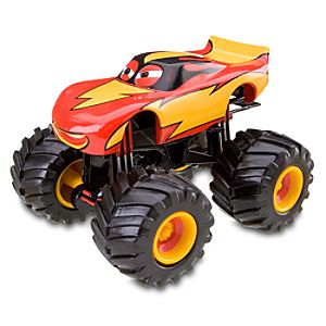 Cars Toon Frightening McMean Monster Truck