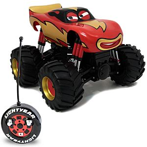 Monster Truck Lightning McQueen RC Vehicle