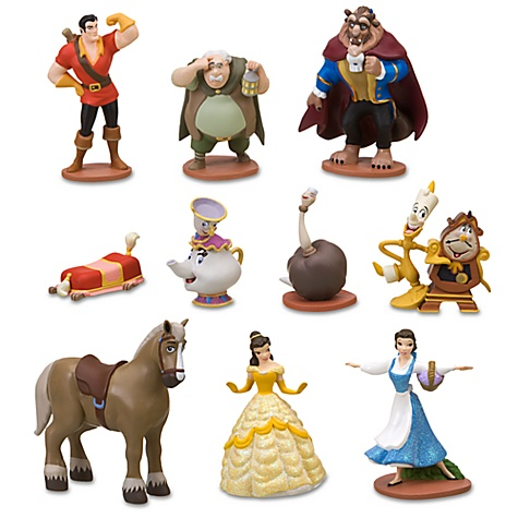 Beauty Stores on Thethingsiwant Com   Deluxe Beauty And The Beast Figure Play Set    10