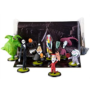 Tim Burtons The Nightmare Before Christmas Figure Play Set -- 7-Pc.