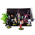 Products>Toys>Play Sets> - Tim Burton's The Nightmare Before Christmas Figurine Play Set -- 7-Pc.: Sizes