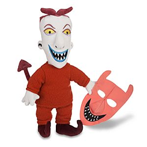 Tim Burtons The Nightmare Before Christmas Lock Plush -- 12