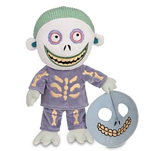 Tim Burtons The Nightmare Before Christmas Barrel Plush -- 12