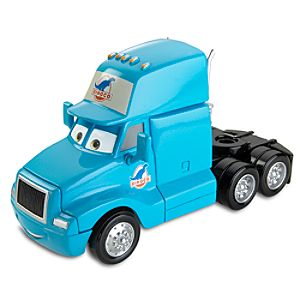 Disney Cars Dinoco Cab Semi Die Cast Car by Mattel