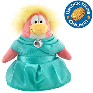 Club Penguin 6 1/2 Limited Edition Penguin Plush - Prom Girl