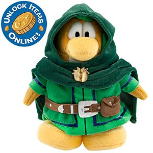 Club Penguin 6 1/2 Limited Edition Penguin Plush - Ranger